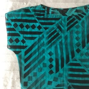 Guess Tribal Print Top
